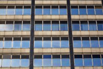 Windows On Old Glass — Stock Photo