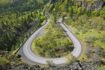 Old Highway In Columbia River Gorge — Stock Photo
