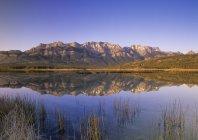 Miette gama e Talbot lago — Fotografia de Stock