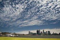 Skyline di città in Austalia — Foto stock