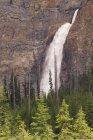 Vue des chutes Takakkaw — Photo de stock