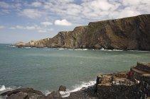 Cliffs Along The Coast — Stock Photo