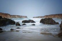 Cala Del Aceite Beach — стоковое фото