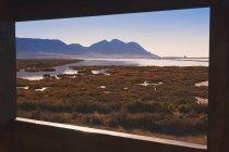 Saltflats природного парку Кабо-де-Гата — стокове фото