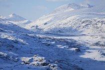 Paesaggio innevato nel parco nazionale di Killarney — Foto stock