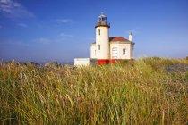 Coquille Fluss Leuchtturm — Stockfoto