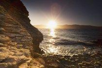 Sonnenlicht auf dem Ozean reflektiert — Stockfoto