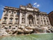 Trevi Fountain in Italy — Stock Photo