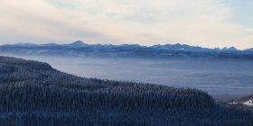 Прочная канадских Скалистых гор — стоковое фото