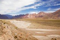 Барвистий пустинній долині — стокове фото