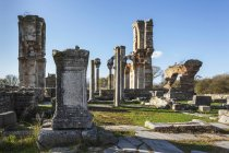 Ruins of Basilica B Philippi — Stock Photo