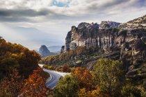 Монастирі на скелі — стокове фото