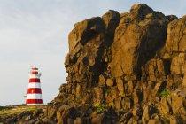 Маяк острова Brier — стоковое фото