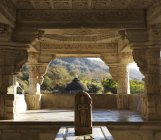 Ranakpur Jain temple — Stock Photo