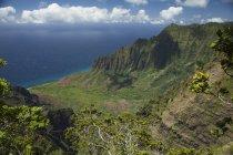 Valle de Kalalau, Costa de Na Pali - foto de stock