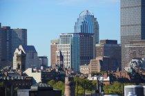 Boston Skyline tagsüber — Stockfoto