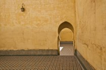 Entrada tradicional em Meknes — Fotografia de Stock