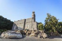Церква першості апостола Петра — стокове фото