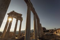 Ruins of the Temple of Trajan — Stock Photo