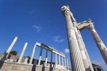 Ruins of Temple of Trajan — Stock Photo