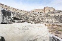 Руїни амфітеатру в Туреччині — стокове фото