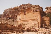 Temple Qasr al Bint — Photo de stock