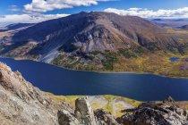 Орієнтир розрив озеро — стокове фото