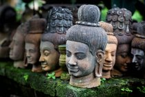 Heads of statues of Buddha, Thailand — Stock Photo