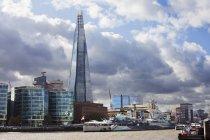 Scherbe jenseits der Themse — Stockfoto