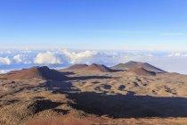 Schlackenkegel und caldera — Stockfoto