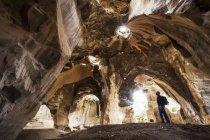 Белл пещеры в Бейт Гуврине — стоковое фото