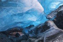 Immagine all'interno del ghiacciaio Canwell — Foto stock