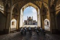 Agha Bozorg mosque — Stock Photo