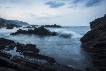 Waiao beach in Yilan County — Stock Photo