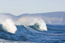 Quebrando as ondas, cabo Kiwanda — Fotografia de Stock