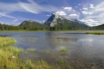 Mount Rundle, Banff Nationalpark — Stockfoto