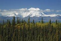 Montañas de Wrangell, Alaska - foto de stock