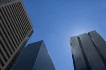 Office Buildings against sky — Stock Photo