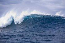 Krachende Welle im Ozean — Stockfoto