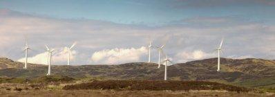 Energía eólica, Dumfries y Galloway - foto de stock