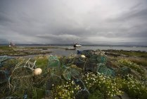 Fishing Nets On The Shore during daytime — Stock Photo