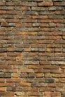 Verwitterte Backsteinmauer — Stockfoto