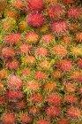 Pilha de Rambutan fresco — Fotografia de Stock