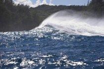 Гігантські хвилі перерв — стокове фото