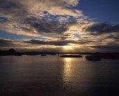 Kilgarvan Harbour Coucher de soleil — Photo de stock