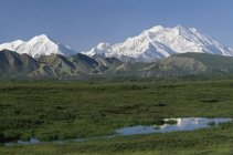 Mount Mckinley, Denali National Park — Stock Photo