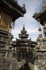 Pura Pulaki templo arquitetura — Fotografia de Stock