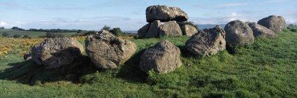 Каменный круг Карроумора, Ирландия — стоковое фото