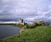 Castillo de Dunguire, Irlanda - foto de stock