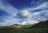 Chugach Mountains under sky — Stock Photo